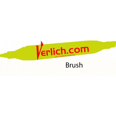 Marcador Touch Brush Canaria Yellow 45