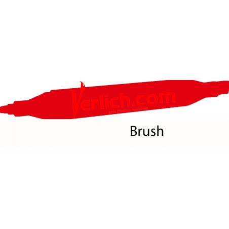 Marcador Touch Brush Coral Red 12