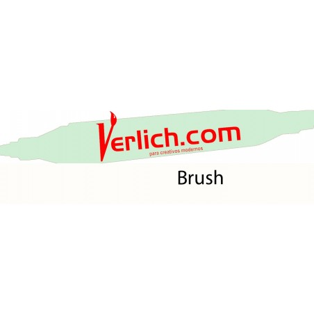 Marcador Touch Brush Dim Green 173