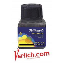 Tinta China Pelikan  523 Amarillo  17 ml.