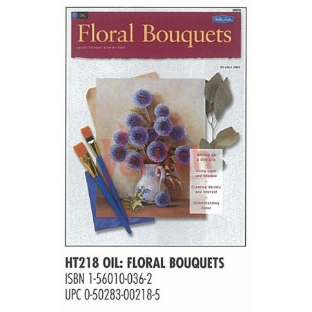 Libro Foster Bouquet Floral 218 Oleo