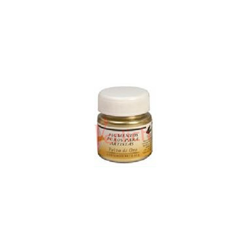 Pigmento Metalico Oro 30 ml.