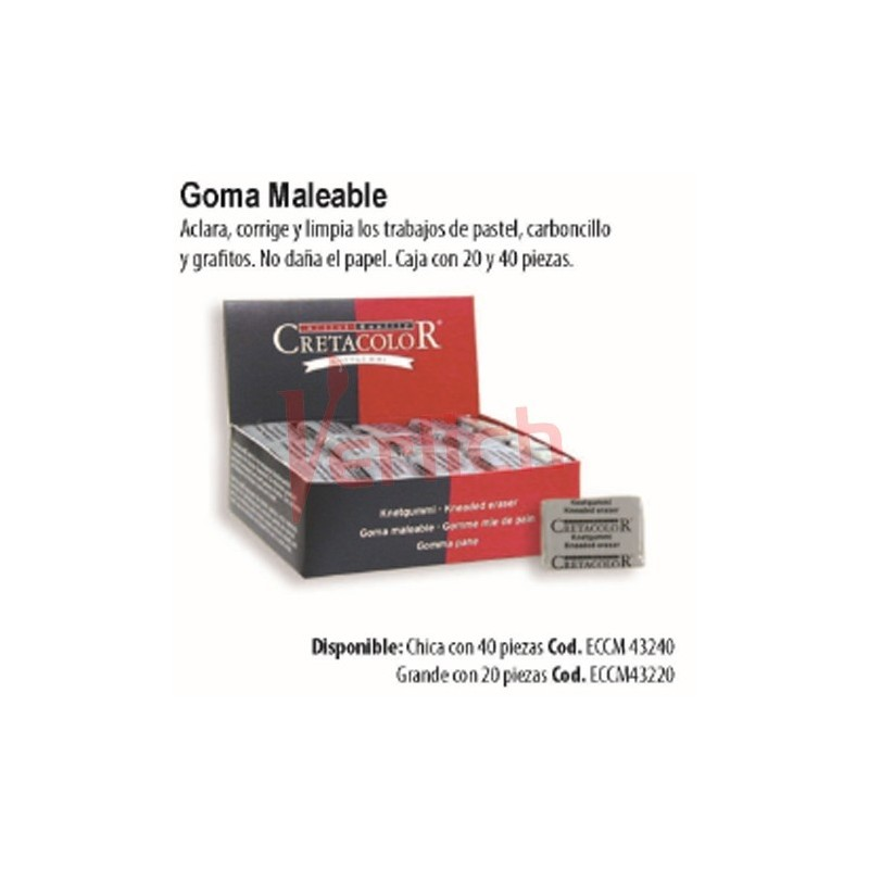 Goma amasable General´s