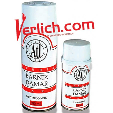Barniz Damar ATL Spray 380 ml.