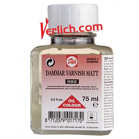 Barniz Damar Mate 082 Talens 75 ml.