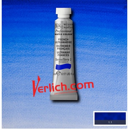 Acuarela Artist´s French Ultramarine 263 S2 Winsor and Newton