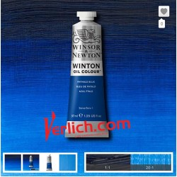 Oleo Winton Azul Phthalo 37ML.
