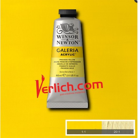 Acrilico Galeria Amarillo Process 537 60ml.