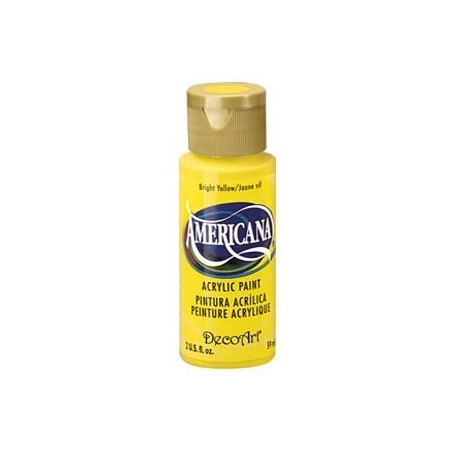 Americana Bright Yellow DA 227 2oz.