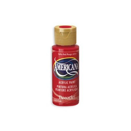 Americana Calico Red DA 020 2oz.