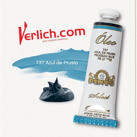 Oleo Pinto Select Azul de Prusia 737 40ml