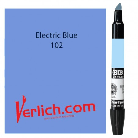 Marcador Chartpak Electric Blue 102