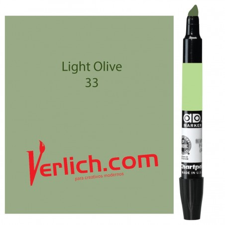 Marcador Chartpak Light Olive 33