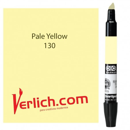Marcador Chartpak Pale Yellow 130