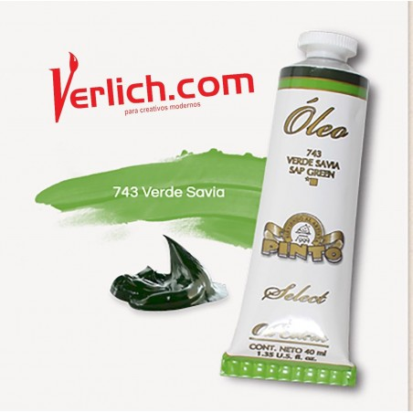 Oleo Pinto Select Verde Savia 743 40ml