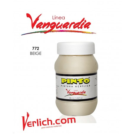 Acrilico Vanguardia Beige 772 100 Ml.
