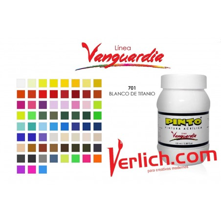 Acrilico Vanguardia Blanco Titanio 701 100 Ml.
