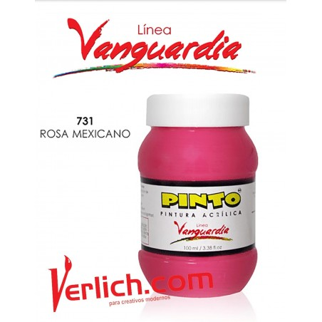 Acrilico Vanguardia Rosa Mexicano 731 100 Ml.