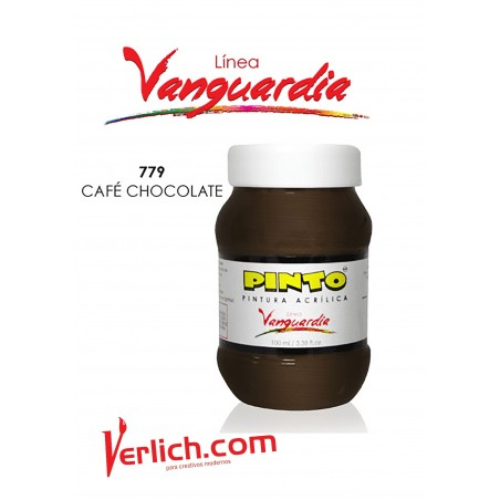 Acrilico Vanguardia Cafe Chocolate 779 100 Ml.
