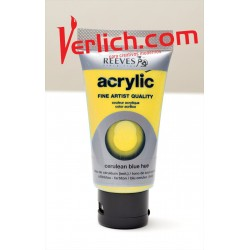 Acrilico Reeves Amarillo Claro (Yellow Pale) 75 ml.