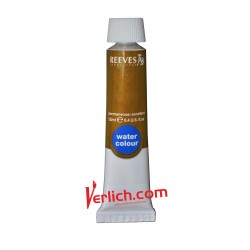 Acuarela Reeves Amarillo Ocre de 12 ml.